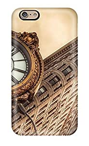 Iphone CaPC Case Protective Case For Ipod Touch 5 Cover Flatiron Building New York City Architecture Clocks Cities Angle Nature Other