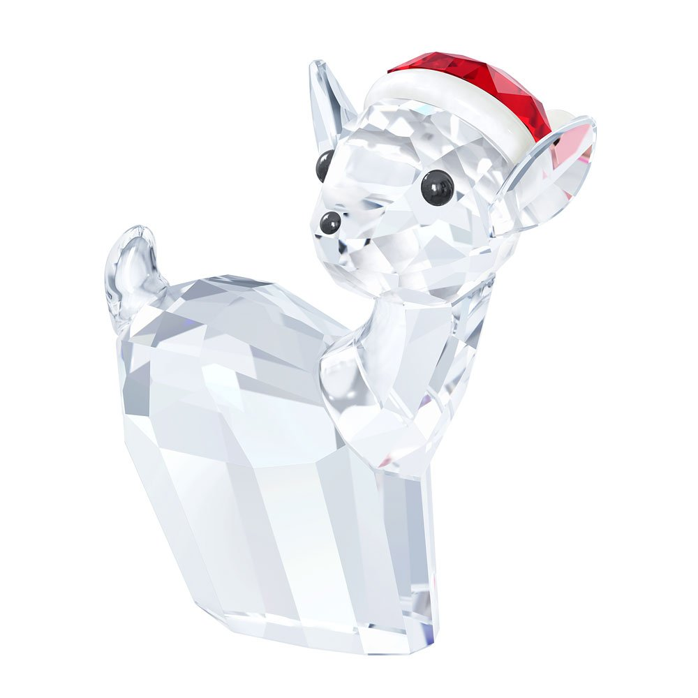 Swarovski 2015 Reindeer / Doe With Santa's Hat
