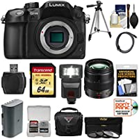 Panasonic Lumix DMC-GH4 4K Micro Four Thirds Digital Camera Body with 12-35mm f/2.8 Lens + 64GB Card + Battery + Case + Tripod + Flash + Filters Kit Advantages Review Image