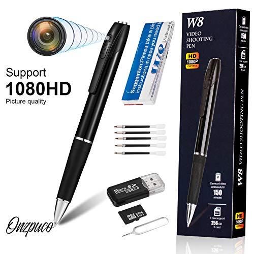 🥇 Hidden Spy Camera Pen Nanny Camera Pen HD 1080P Video Recorder