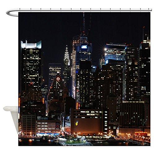 CafePress - New York City Skyline - Decorative Fabric Shower Curtain (69