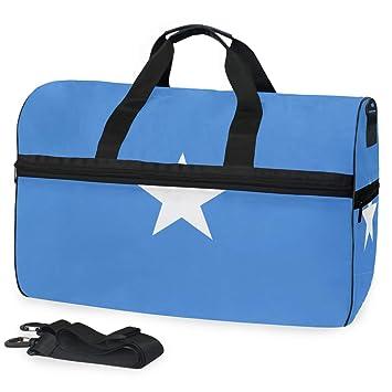 Amazon.com: Bandera de Somalia, bolsa de gimnasio con ...