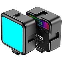Ulanzi VL49 RGB Mini Multi Color LED lampa wideo do smartfonów i aparatu, lampa wypełniająca z regulowaną temperaturą…