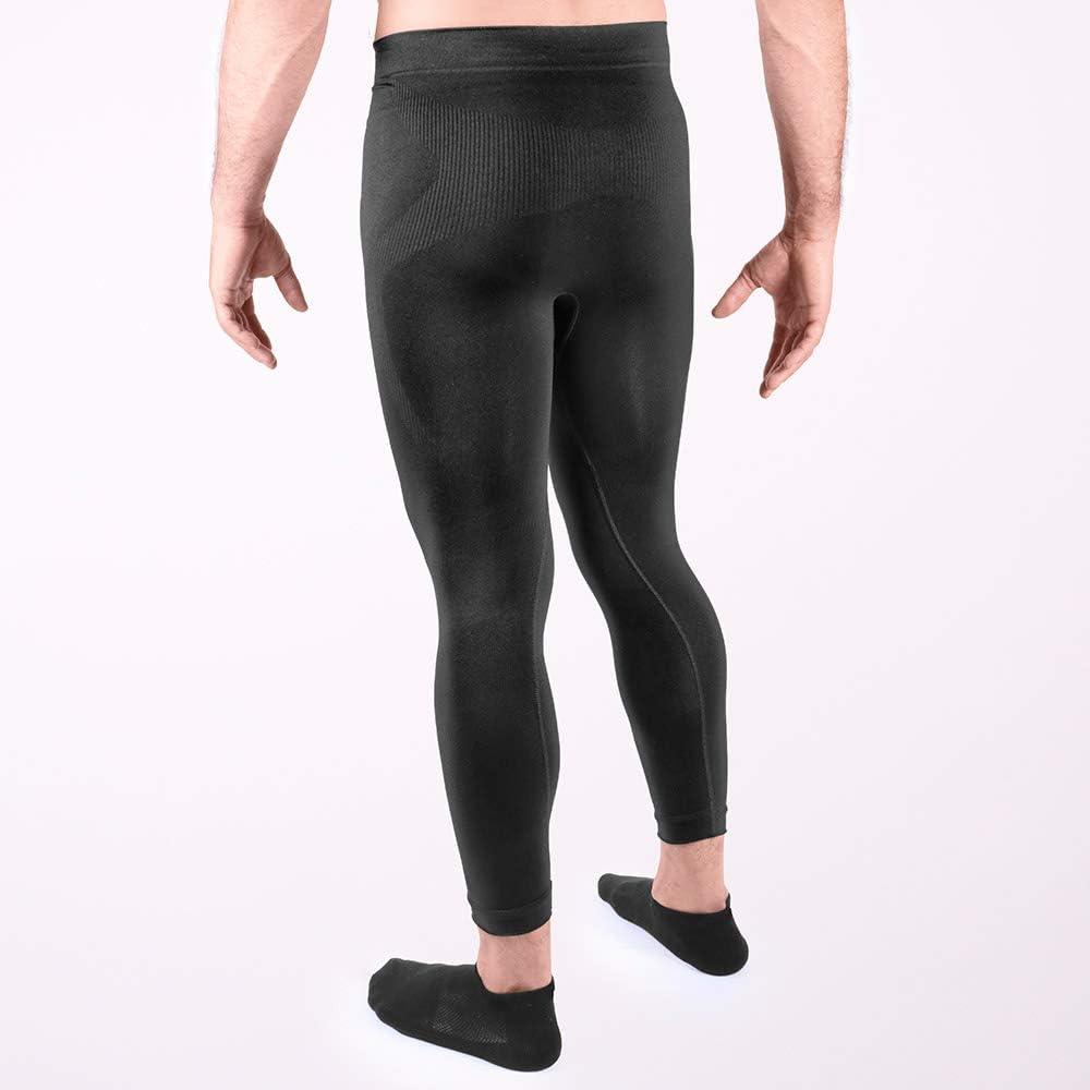 L Schwarz Unisex HO Soccer Underwear Trousers Performance Black Thermo-Mesh lang f/ür Erwachsene
