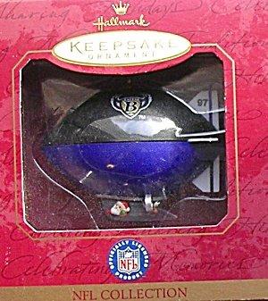 Keepsake Raven - 1997 Baltimore Ravens football NFL Christmas Ornament Hallmark keepsake