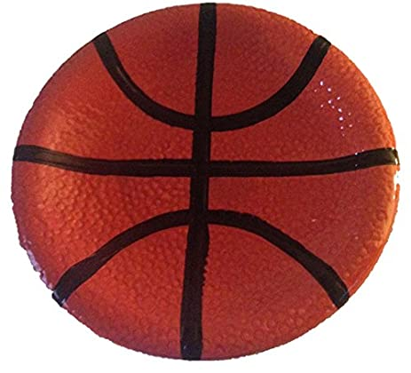 Sports: Basketball Ceramic Stoneware Bathroom Accessories (soap Dish)