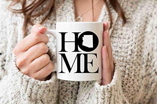 Arizona Mug State Mug Coffee Mug Home Mug Homesick Gift Personalized Mug Custom Mug No Place Like Home Best Friend Gift BFF Gift for Friend - Arizona Mug