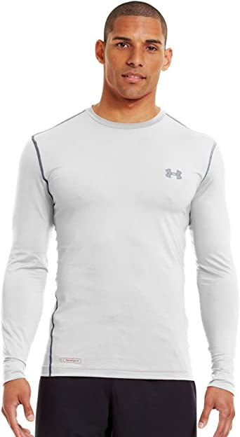 tarta encima En cantidad  Under Armour Men's HeatGear Sonic Fitted L/S Tee at Amazon Men's Clothing  store