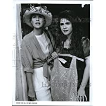 1991 Press Photo Sharon Gless and Lisa Rieffel in The Trials of Rosie O'Neill