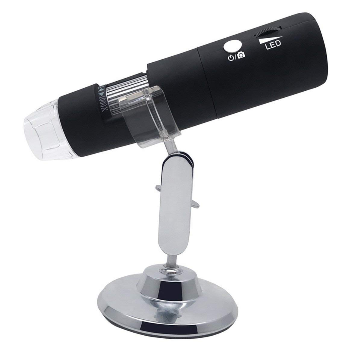 Electron Microscope with LED Lights Portable USB Digital Microscope 1000X Desk Loupe Long Distance Zoom