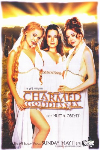 Click for larger image of Charmed Poster TV 11x17 Shannen Doherty Holly Marie Combs Alyssa Milano Rose McGowan