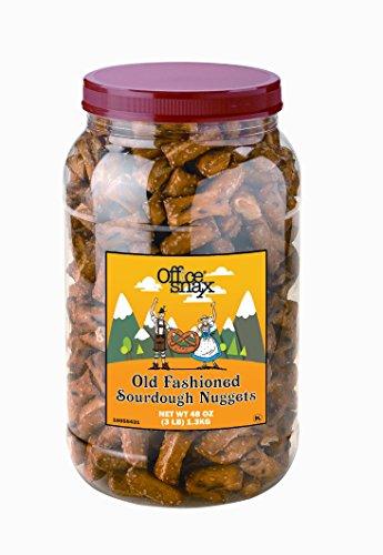 OfficeSnax Sourdough Pretzel Nuggets, 48 Ounce