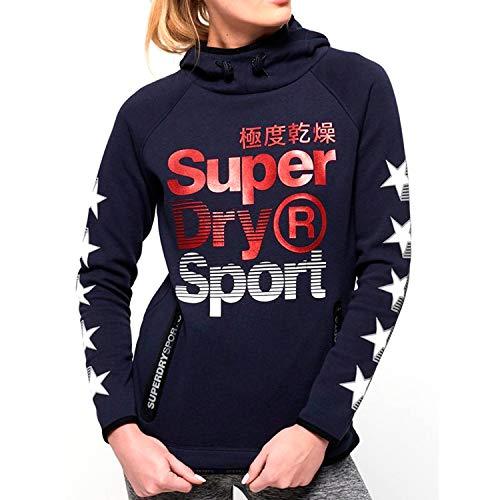 Y Sudadera Superdry Capucha Para Con Sport Mujer Estrellas xRxPd7nI