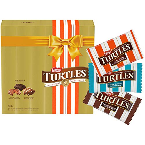 Nestlé Turtles Assorted Holiday Chocolates Gift Box, 134 Grams