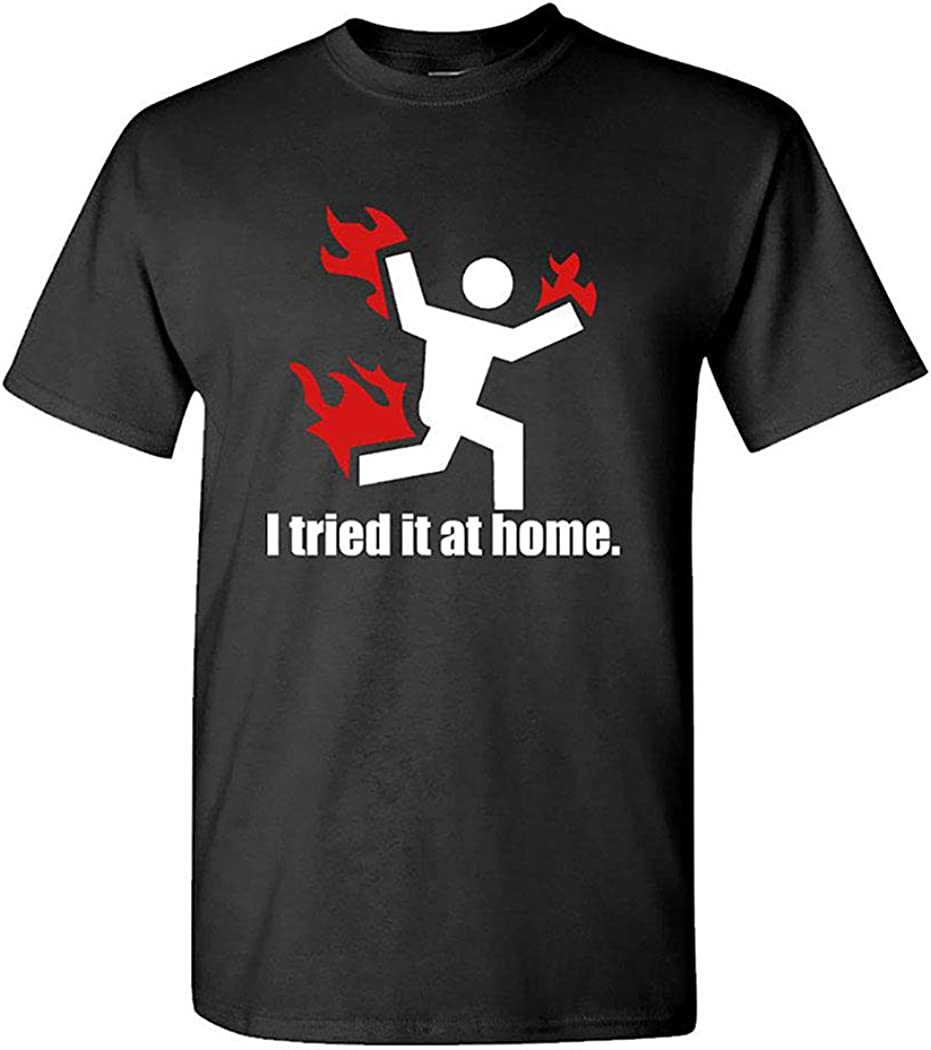 I Tried IT at Home • Cotton Tee Shirt T-Shirt