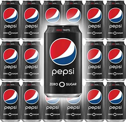 Soft Drinks: Pepsi Zero Sugar