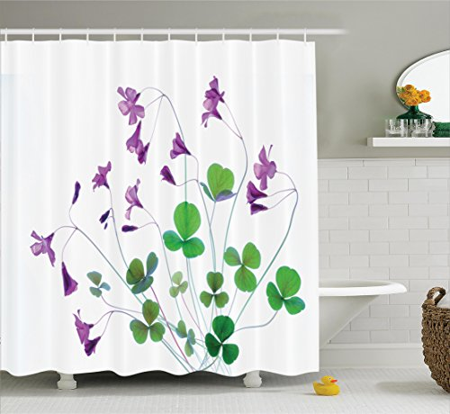 purple and green shower curtains - 8