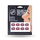 NHL Montreal Canadiens Face Tattoos, 8-piece Set