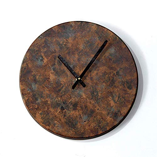 Giant Roots Patina Finish 11 inch Textured Antique Color Wall Clock
