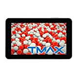 "TMAX TM9S775 Black, Dual Core, Google Certified 9"" Tablet, Android 4.1, 1.6GHz, 8GB Storage, 1GB RAM, Dual Camera"