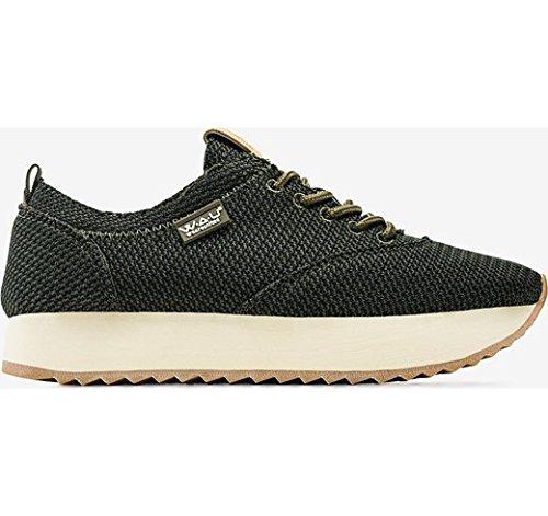 Zapatilla WAU C28415 Knit KAKHY Talla 37: Amazon.es: Zapatos y complementos