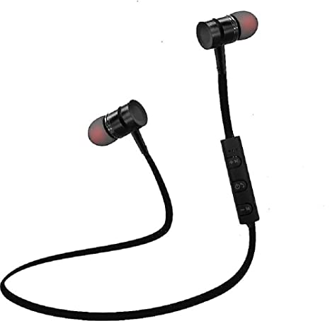 Envent LiveTune 500 Wireless Bluetooth Earphone with Magnetic Locking Design (Black) In-Ear Headphones at amazon