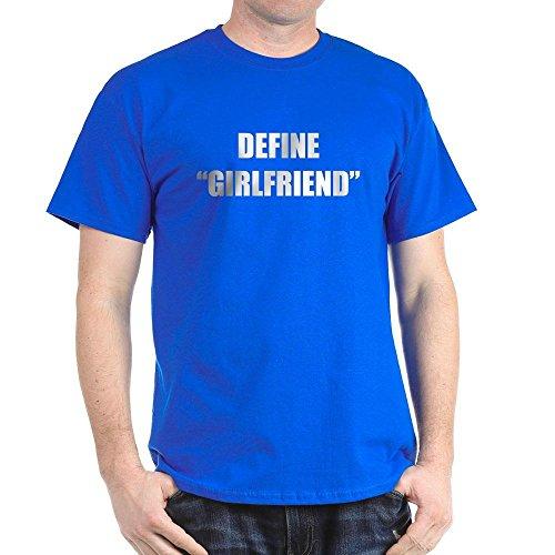 CafePress Define Girlfriend Black T-Shirt 100% Cotton T-Shirt