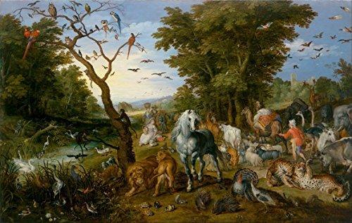 Artifact Puzzles - Brueghel Noah's Ark Wooden Jigsaw Puzzle