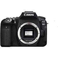 Canon Digital Camera - SLR Canon EOS 90D DSLR Body Only , Black (90DB)
