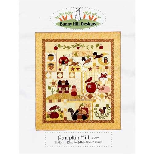 Pumpkin Hill 8 month block Quilt Pattern (Hill Quilt Pattern Designs Bunny)