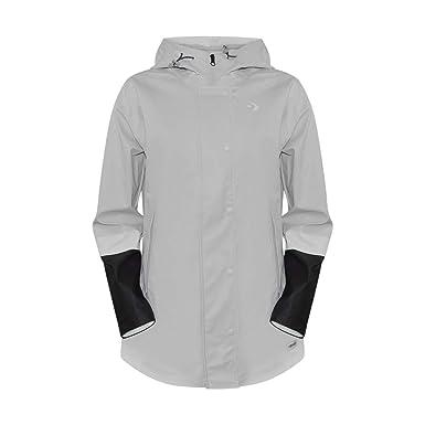 aa8d80902643 Amazon.com  Converse Colorblock Women s Raincoat  Clothing