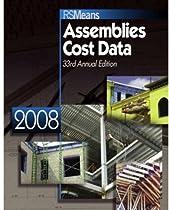 Assemblies Cost Data 2008 (Means Assemblies Cost Data)