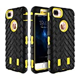 Best Aerb iPhone 6 Plus Cases - iPhone 7 Plus Case,TACOO Flexible TPU Hard PC Review
