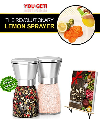 stainless-steel-salt-and-pepper-grinder-mill-set-adjustable-coarseness-huge-quality-of-shakers-glass