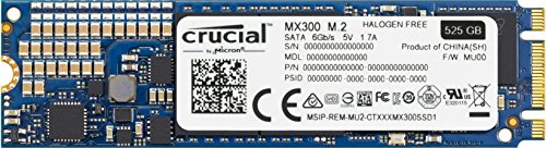 Crucial MX300 525GB SATA 2.5 Zoll Interne Solid State Drive - CT525MX300SSD1