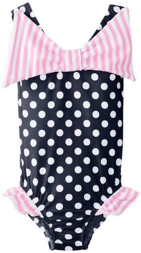 Flap Happy Baby Girls Hip Ruffle Tank Swimsuit