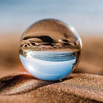 "MasBros 80mm/3.15"" LensBall Pro K9 Clear Crystal Ball Glass Ball Photography Accessory : Garden & Outdoor"