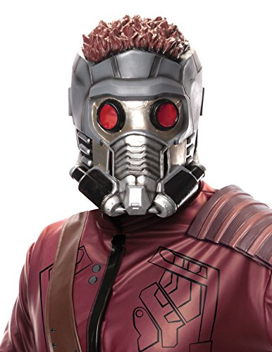 Rubie's Men's Guardians of the Galaxy Star-Lord Costume Accessories, GOTG, Mask (Adult Star Costumes)