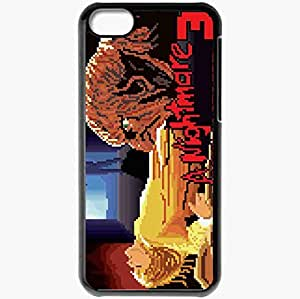 Personalized iPhone 5C Cell phone Case/Cover Skin A Nightmare On Elm Street 3 Dream Warriors Black