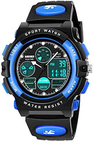SOKY LED Waterproof Digital Sport Watch for Kids - Best Gift