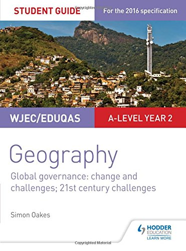 WJEC/Eduqas A-level Geography Student Guide 5: Global Governance