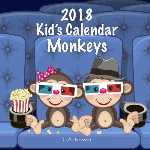 - 2018 Kid's Calendar: Monkeys