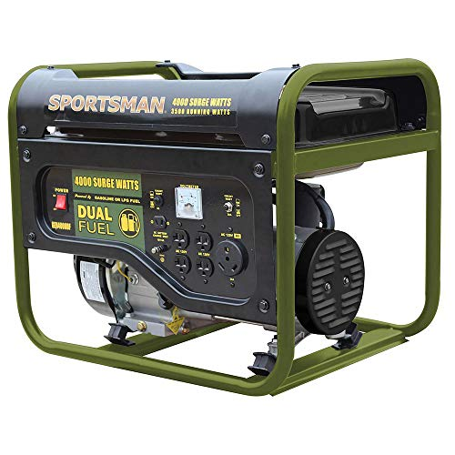Sportsman 4,000/3,500-Watt Dual Fuel Powered Portable Generator, Runs on LPG or Regular Gasoline Sportsman