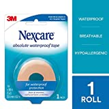 Nexcare Absolute Waterproof Tape, From the #1 Leader in U.S. Hospital Tapes
