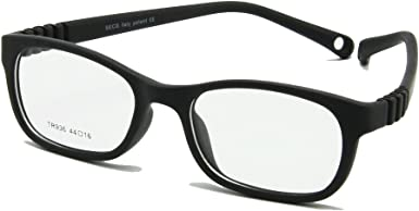No Screw EnzoDate Flexible Kids Eyeglasses Frame Size 44//16 TR90 Children Glasses Unbreakable Safe Light Boys Girls Optical Glasses