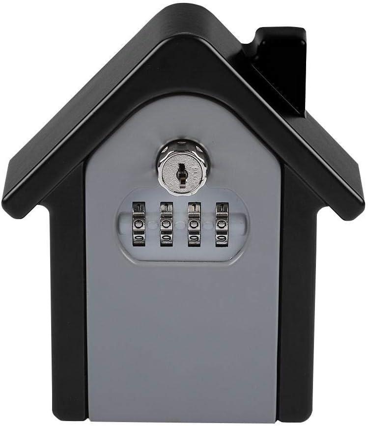Bewinner Bo/îte de Rangement pour cl/és Mini 4 Chiffres avec Mot de Passe et Code de s/écurit/é