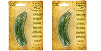 christmas pickle on card includes christmas pickle story set of 2 - Christmas Pickle Story