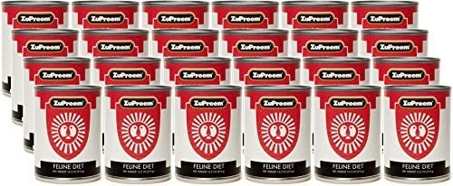 24 Pack Zupreem Exotic Feline Diet Canned Food, 13.2 Ounces Each
