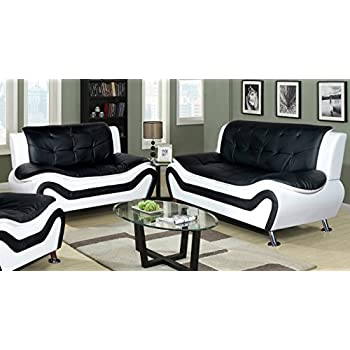 Amazon Com Beverly Fine Furniture F4501 2pc 2 Piece Aldo Modern