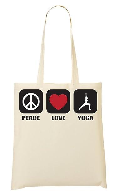 Peace Yoga Bolso De Mano Bolsa De La Compra: Amazon.es ...